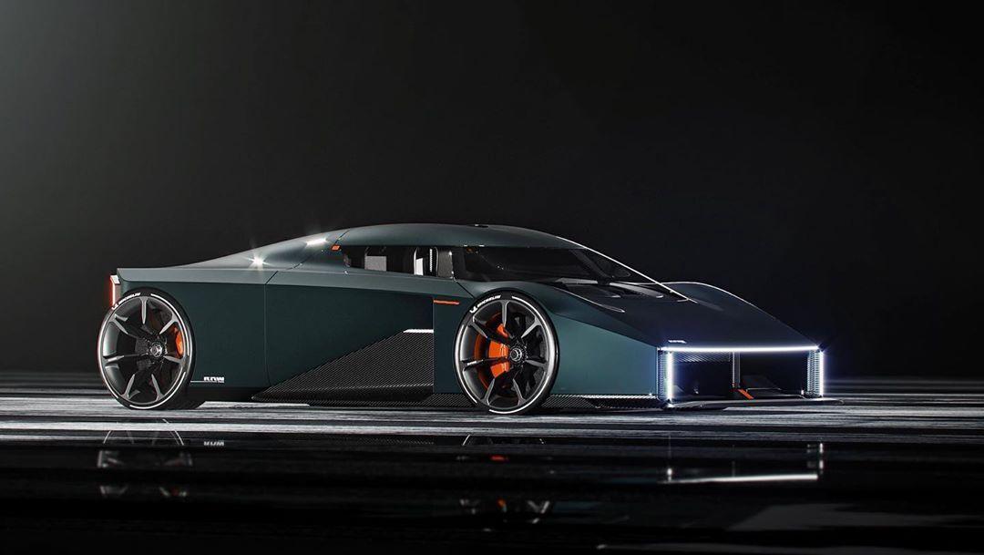 Koenigsegg, üç kişilik bir otomobil üzerinde çalışıyor.