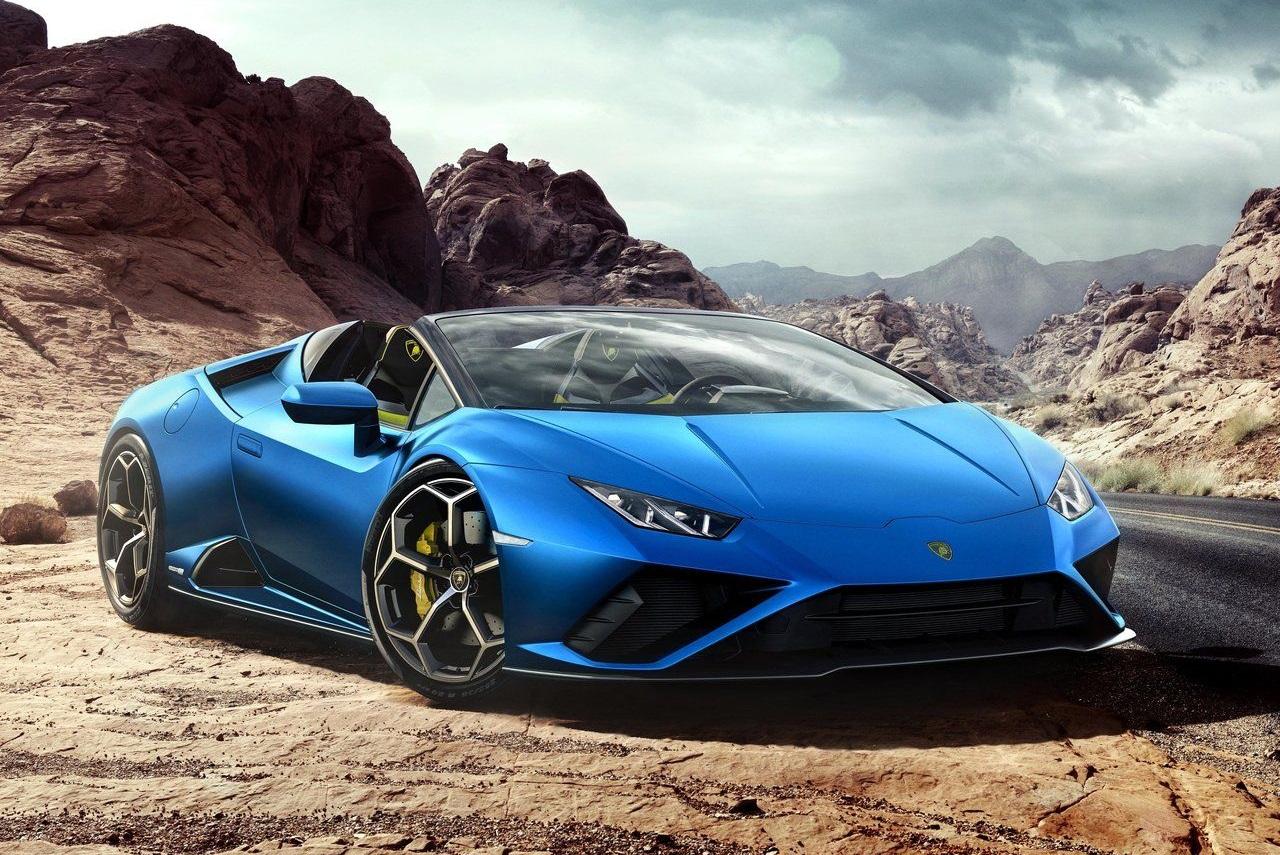 Lamborghini Huracan Evo RWD Spyder ile tanışın.