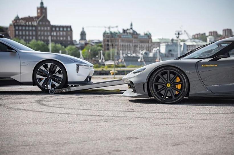Polestar ve Koenigsegg güçlerini birleştiriyor.