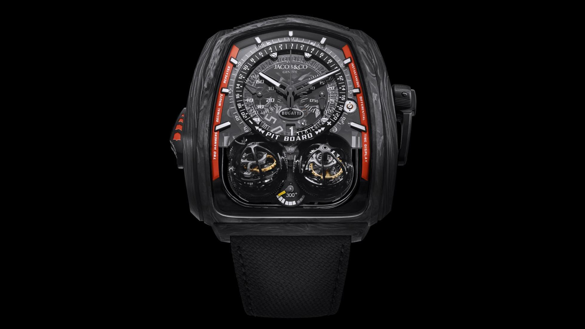 Jacob & Co, Bugatti için yeni bir saat daha üretecek.