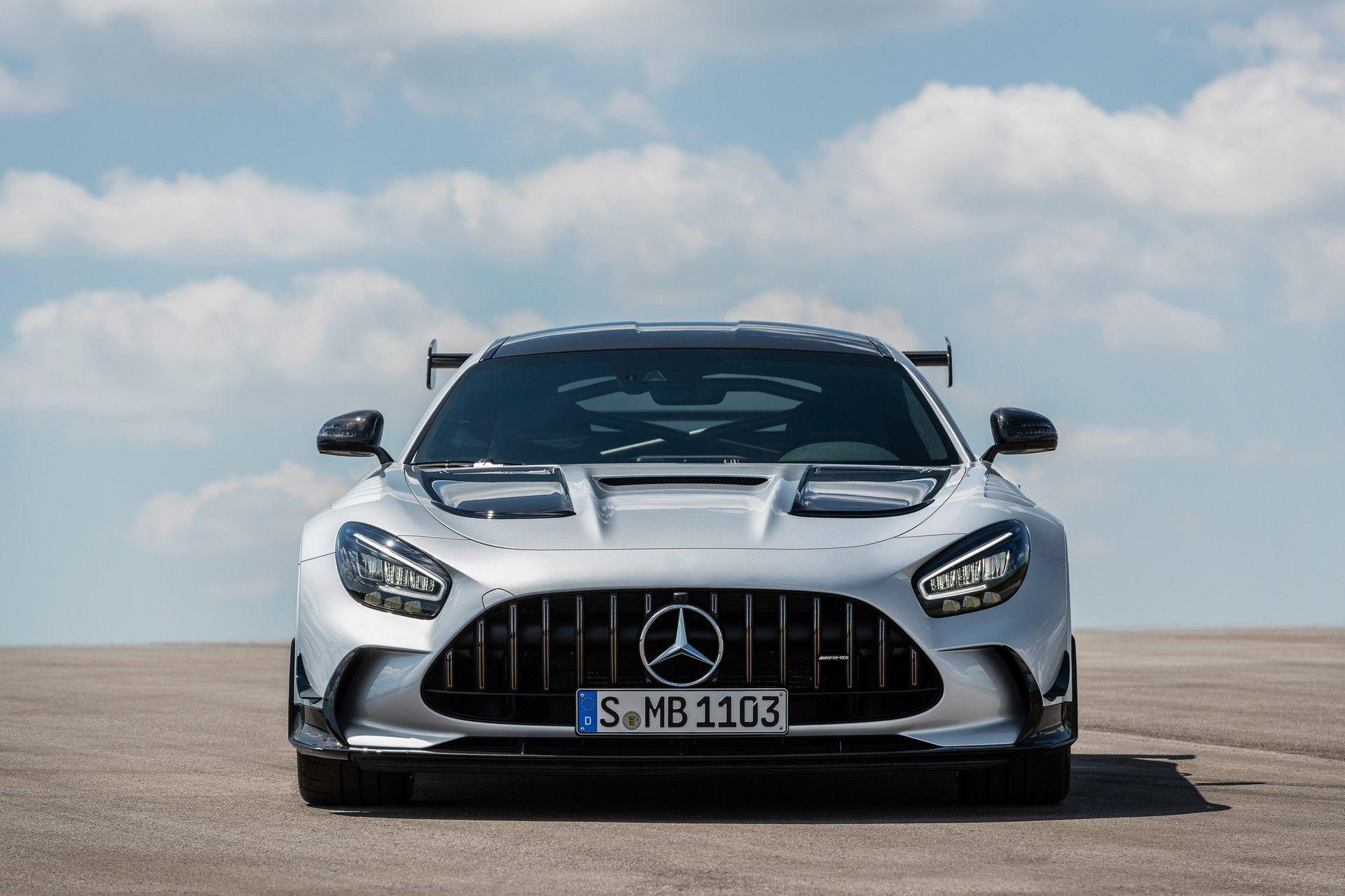 Mercedes-AMG GT Black Series karşımızda!