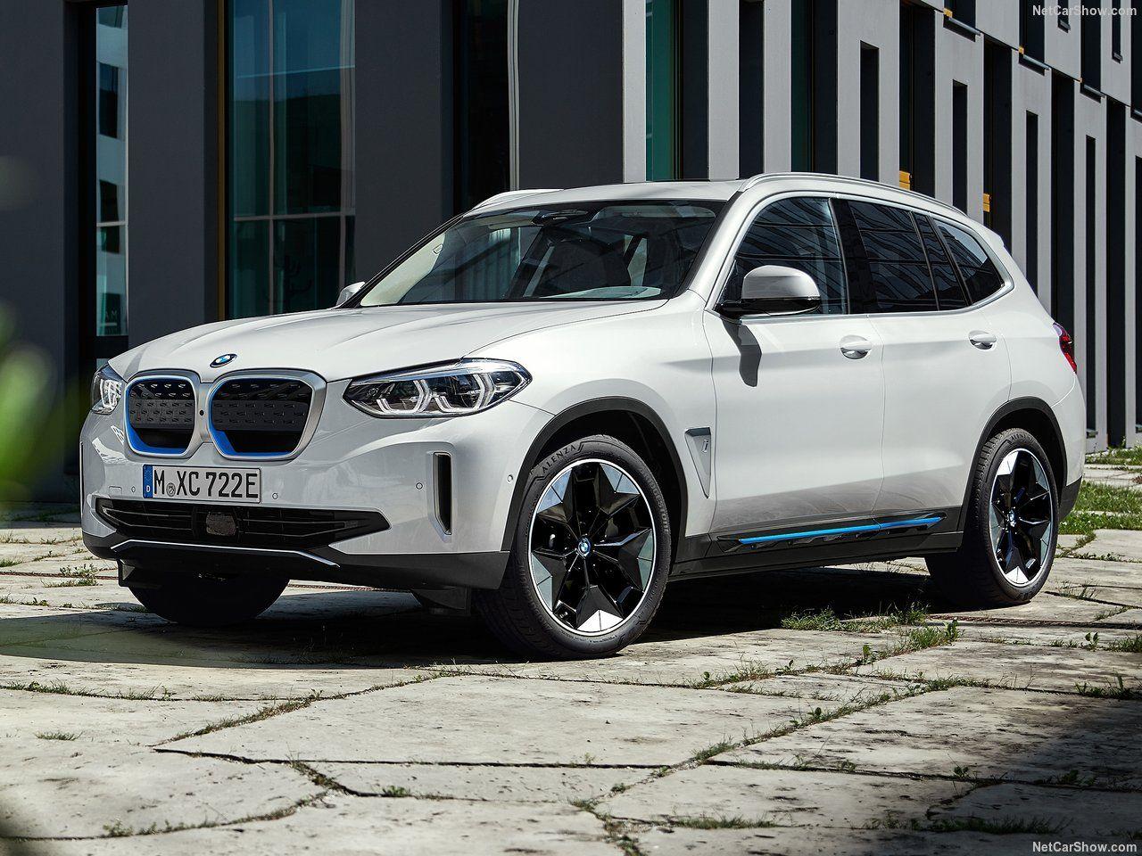 BMW, iX3 ortaya çıktı.