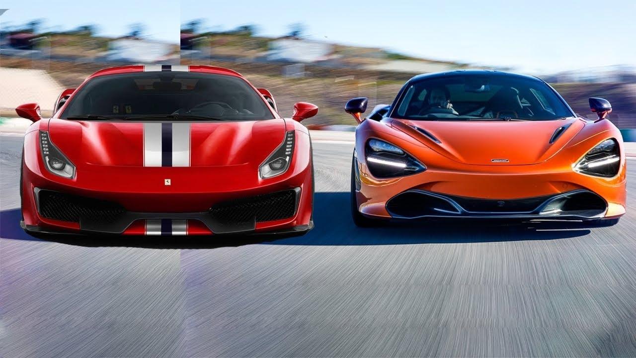 McLaren 720S, Ferrari 812 Superfast, Ferrari 488 Pista ve Lamborghini Huracan Performante mücadelesini izlemiş miydiniz?