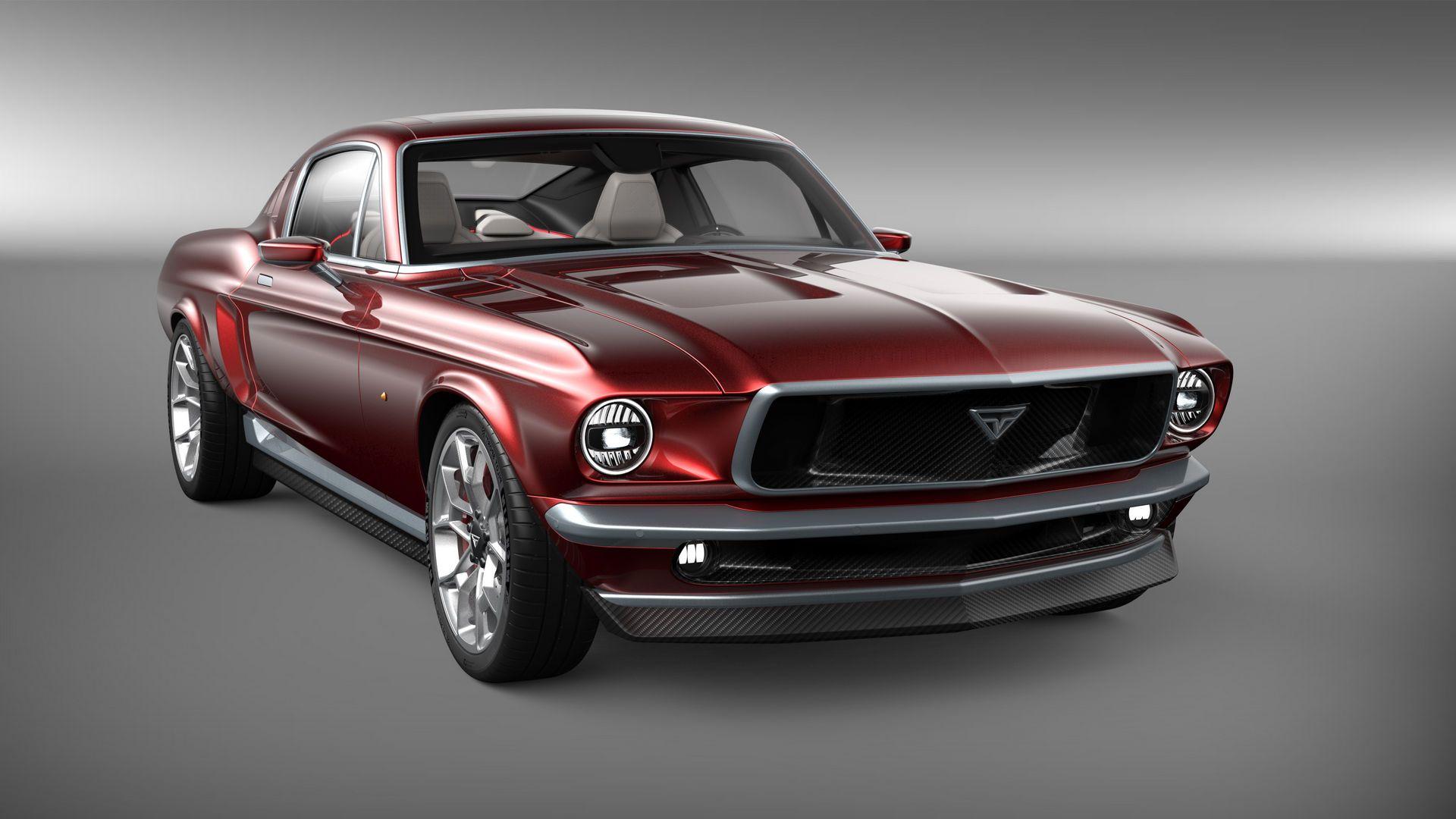 Rus şirketi Aviar Motors, Tesla tabanlı bir Mustang tanıttı.