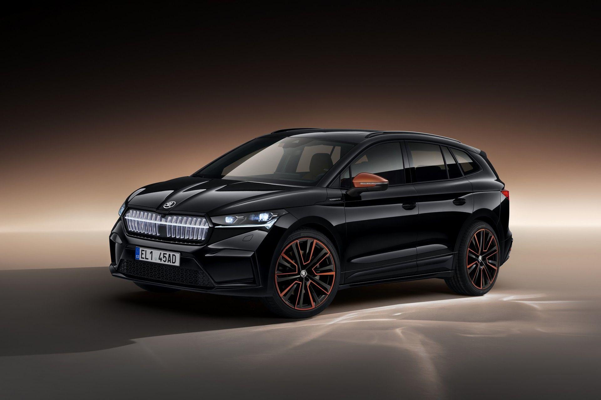 Skoda'nın elektrikli otomobili Enyaq iV ortaya çıktı.