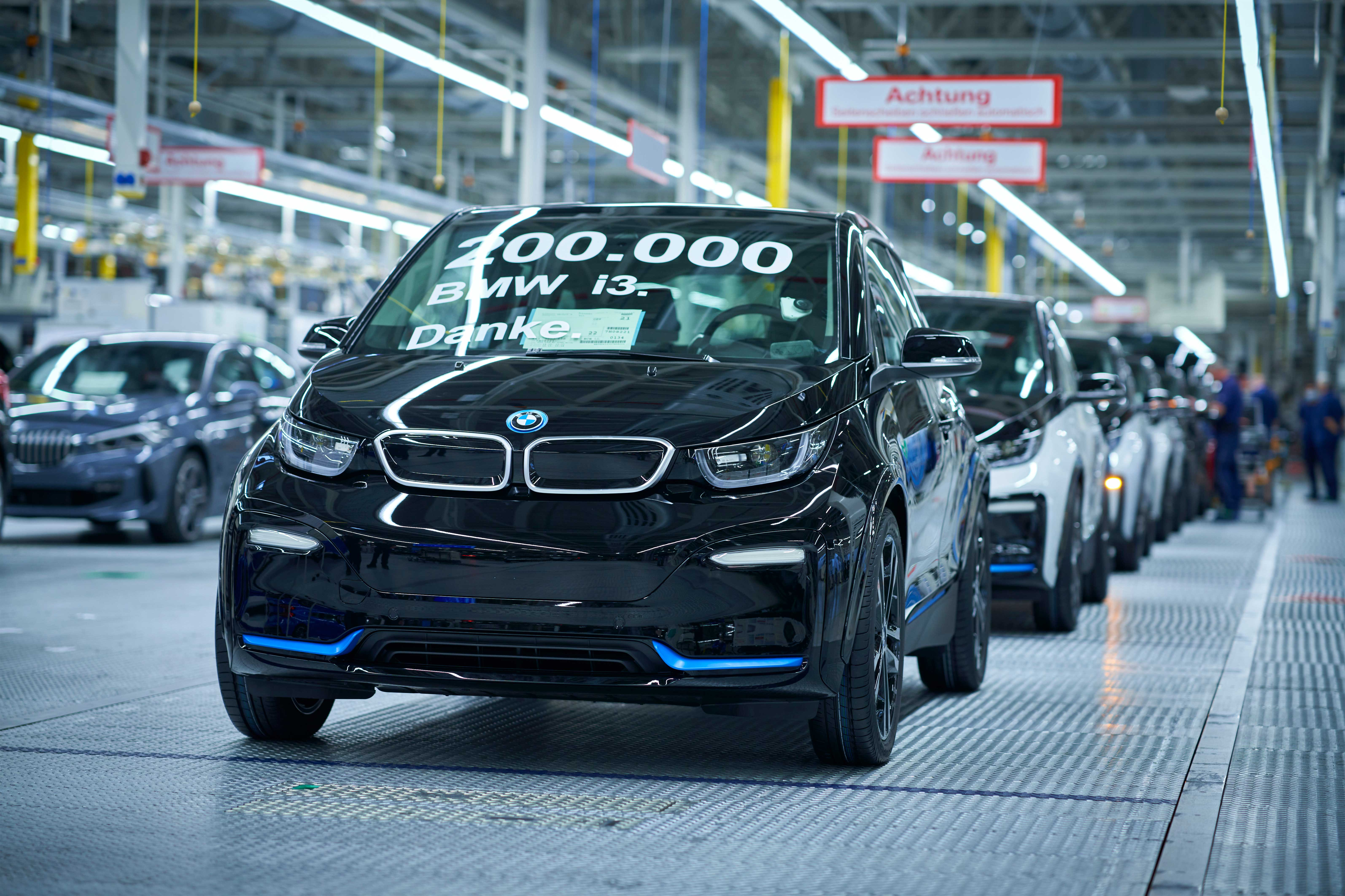 200.000'inci BMW i3 banttan indi