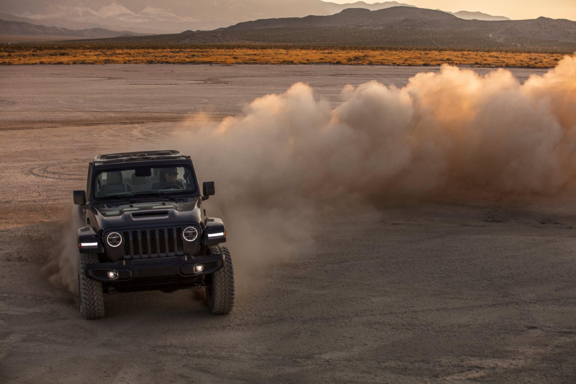 Jeep, Wrangler'ı V8'ledi
