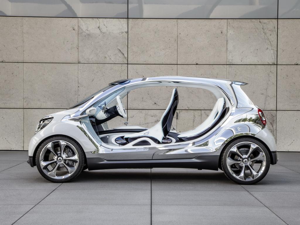 Smart yeni elektrikli crossover ile üst lige çıkıyor
