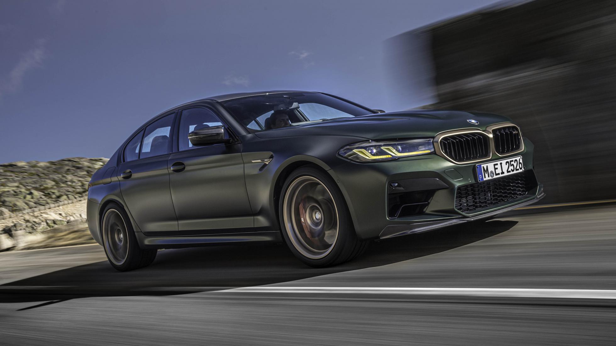 M'in en güçlüsü: BMW M5 CS