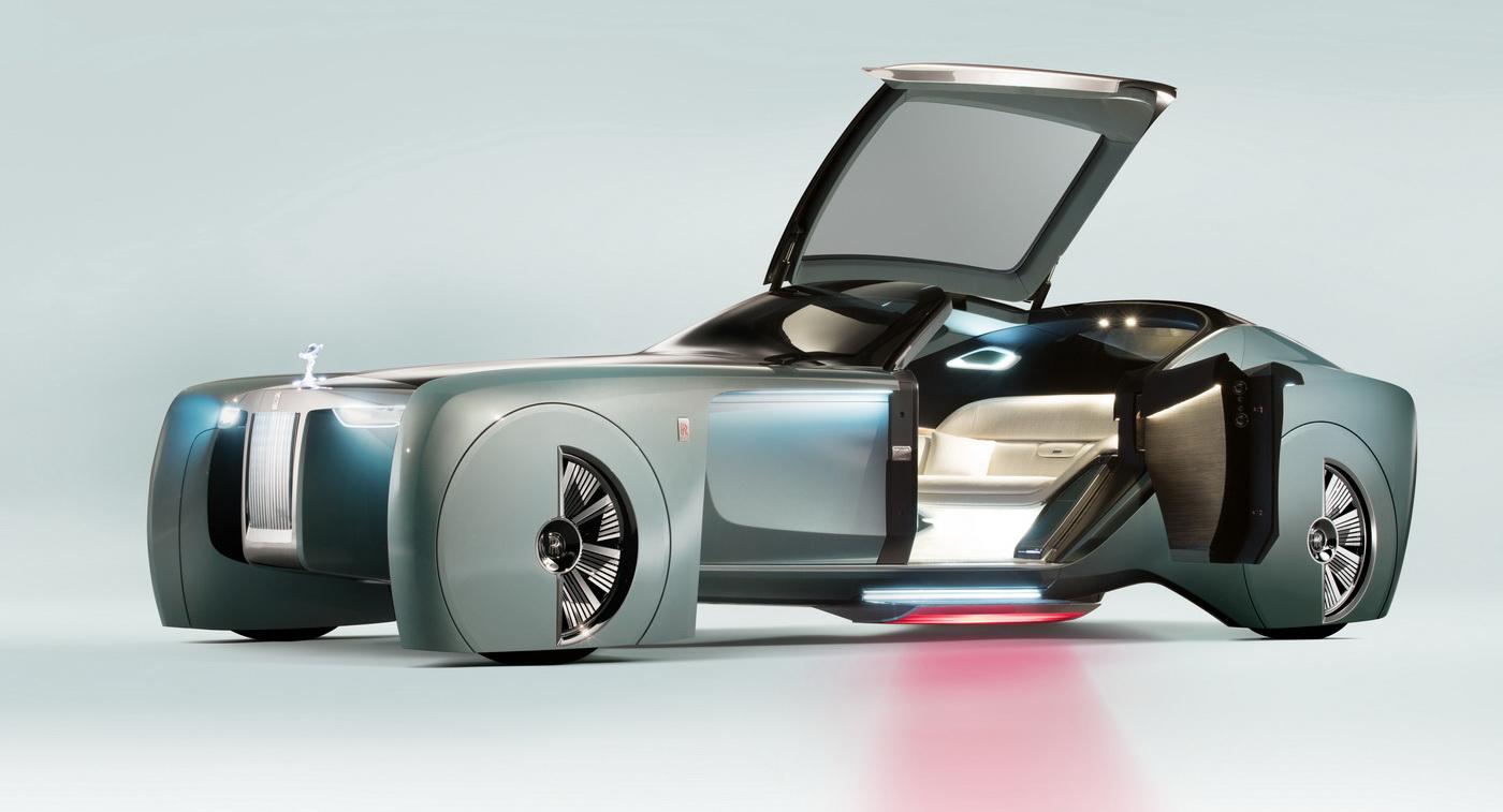 Rolls Royce'un elektrik geleceğinin detayları