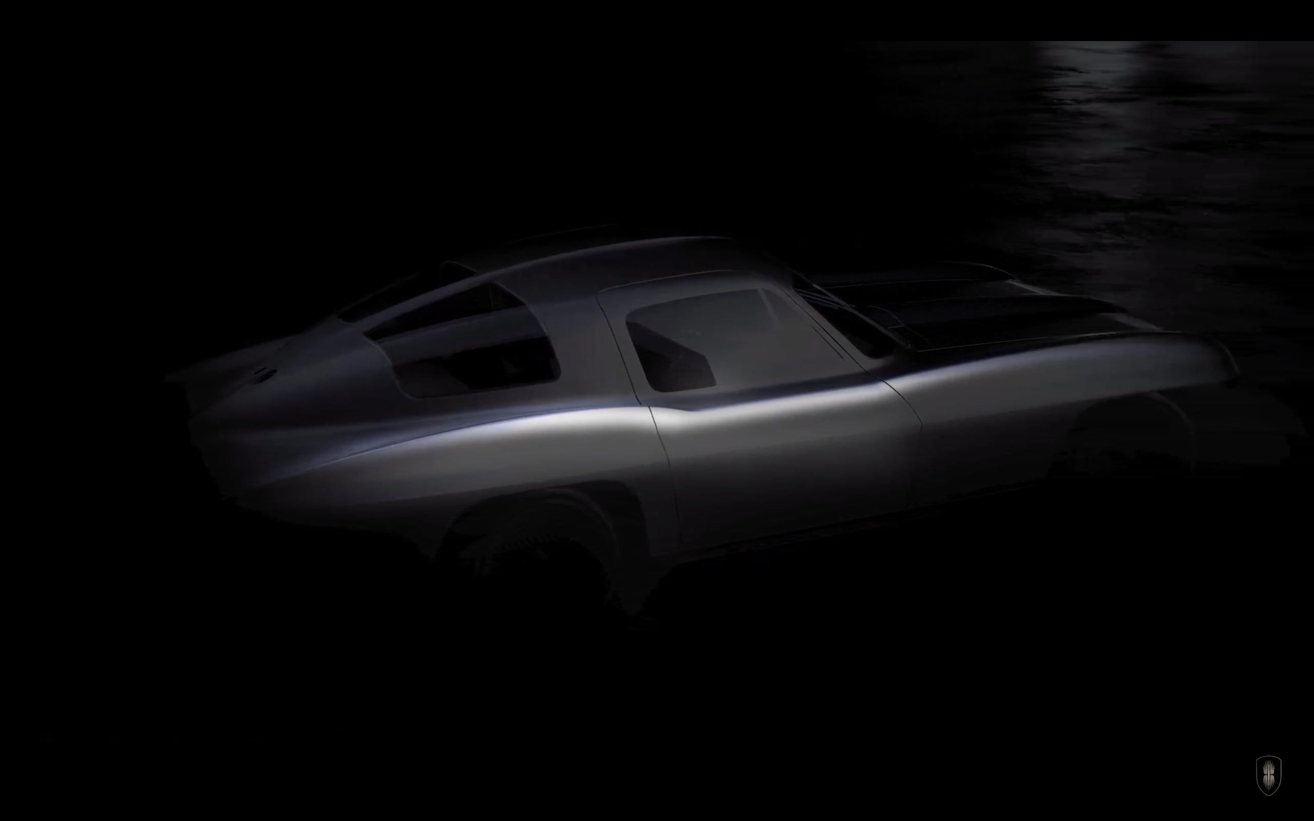Corvette C2, tasarımcısının elinde 2000 hp'lik elektrik gücüyle yeniden doğacak