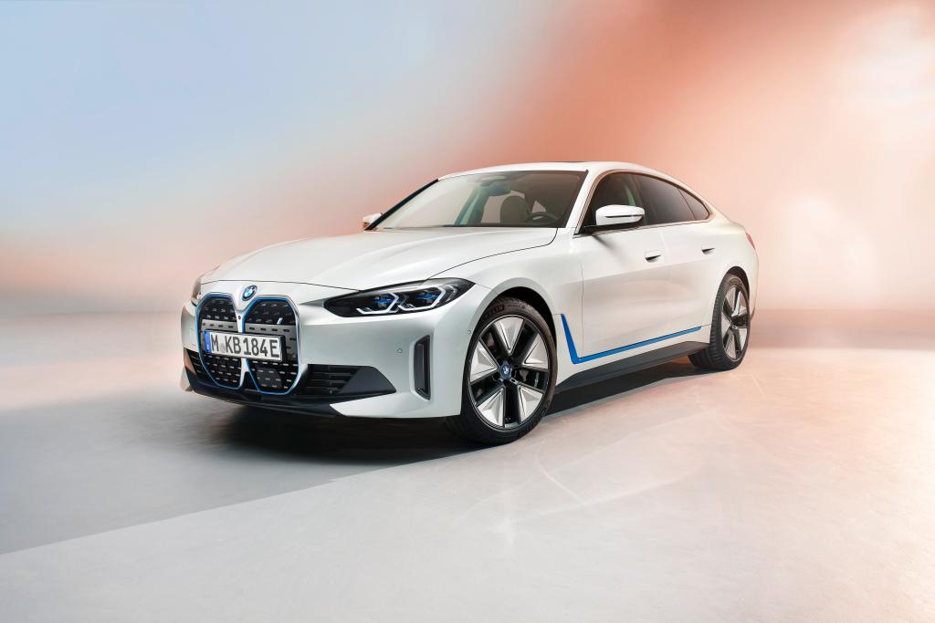BMW, elektrikli i4'ün ilk gösterimini gerçekleştirdi