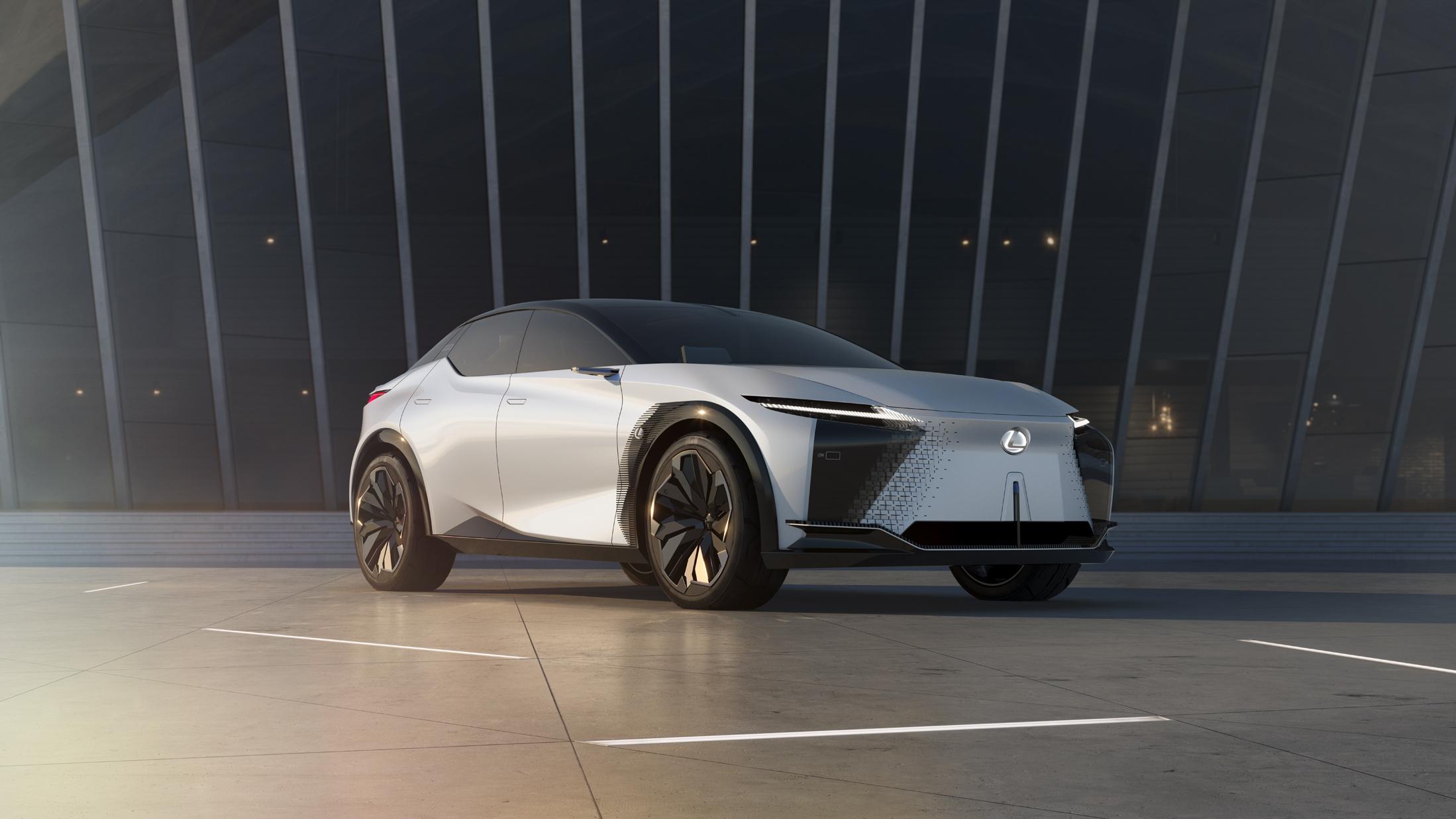 Lexus Yeni Vizyonunu Elektrikli Araç Konseptiyle  Tanıttı
