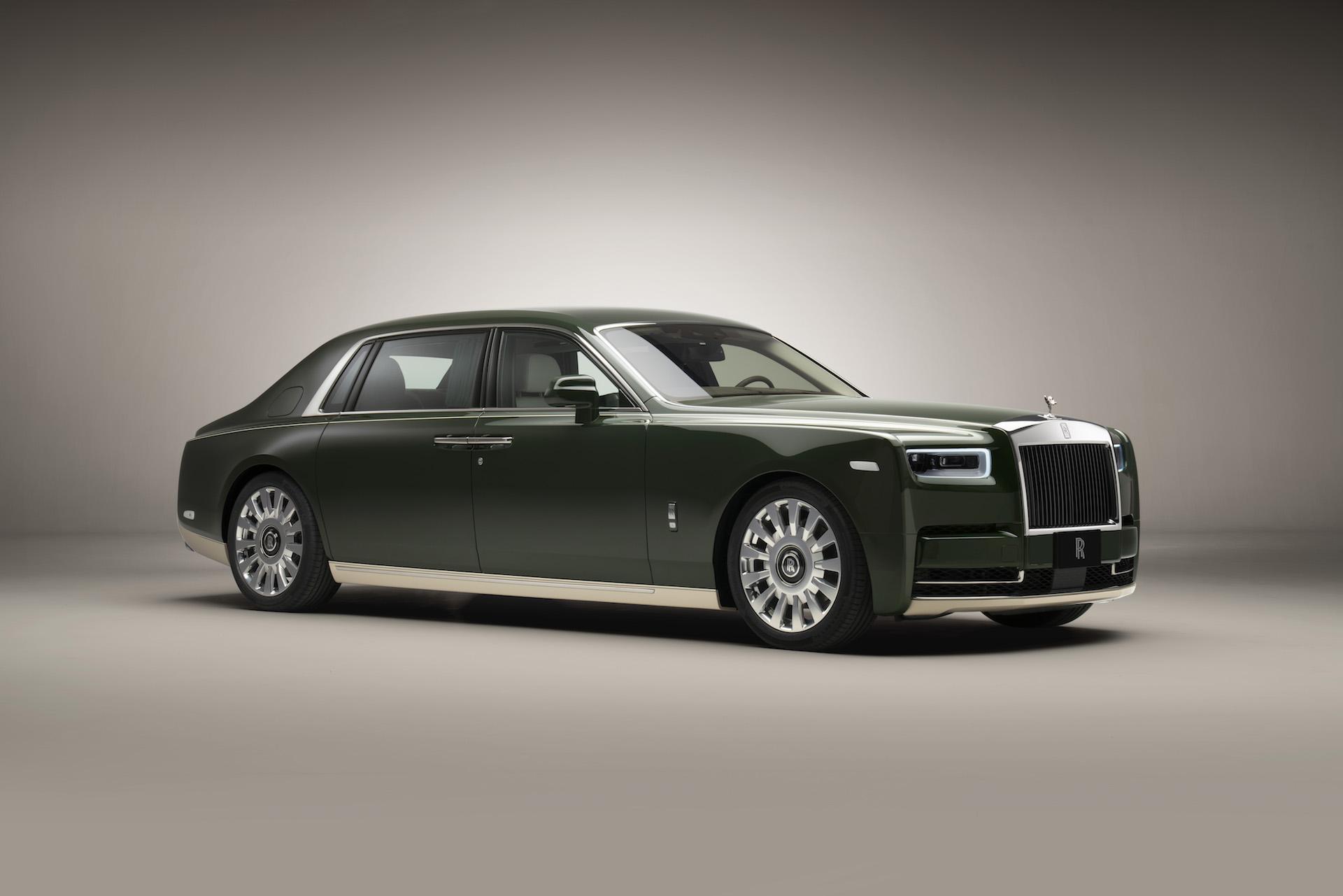 Hérmes ve Rolls Royce'tan ortak Phantom: ORIBE