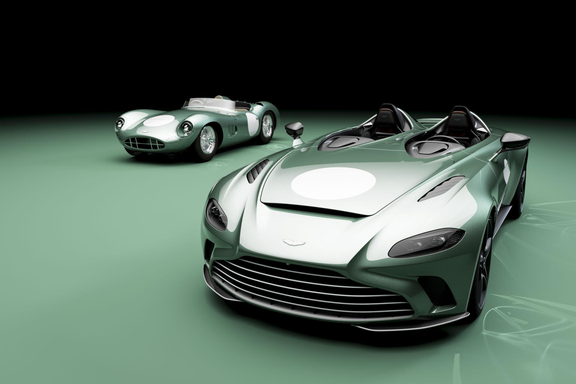 Aston Martin, efsanevi modeli DBR1'e Speedster ile selam gönderiyor