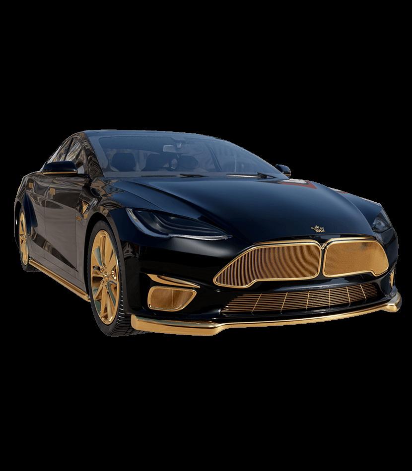 Tesla'nızı altın kaplama ister misiniz?