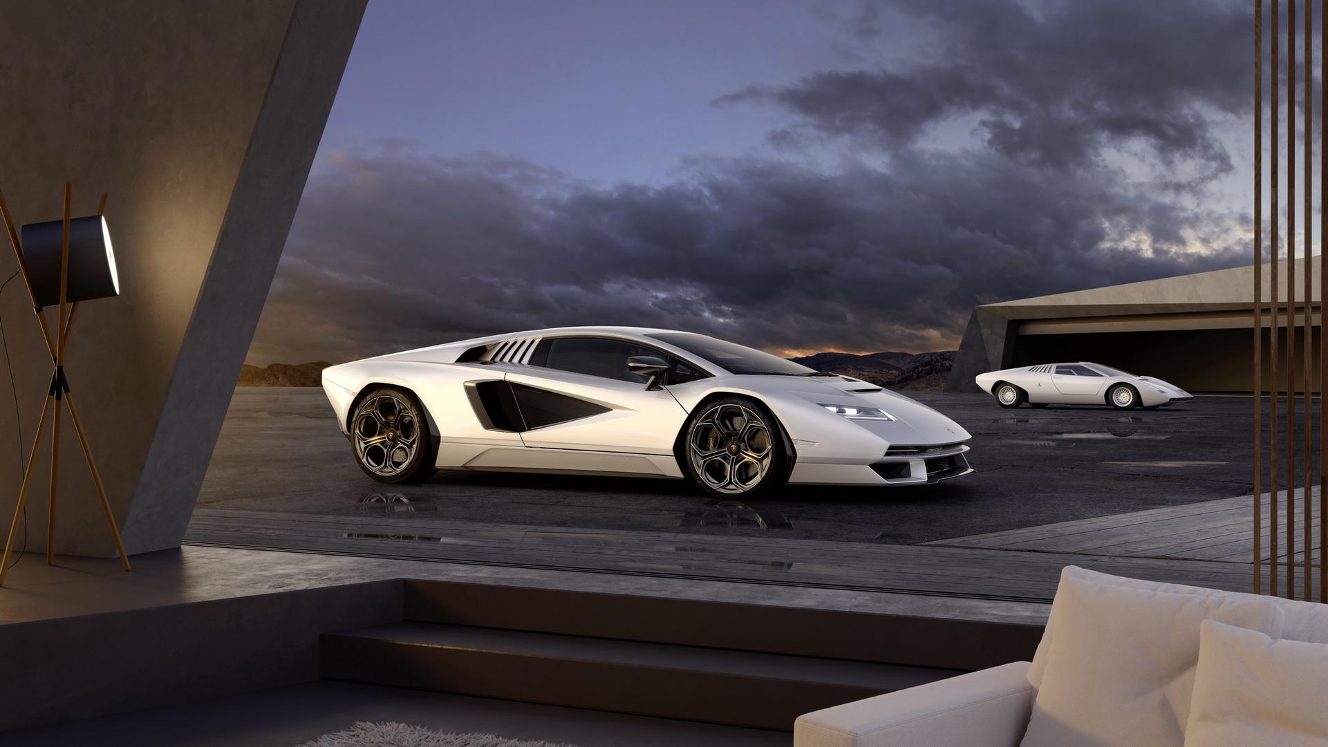 Lamborghini Countach LPI 800-4, Sian bazlı 21. yüzyıl süper otomobili olarak geri dönüyor.