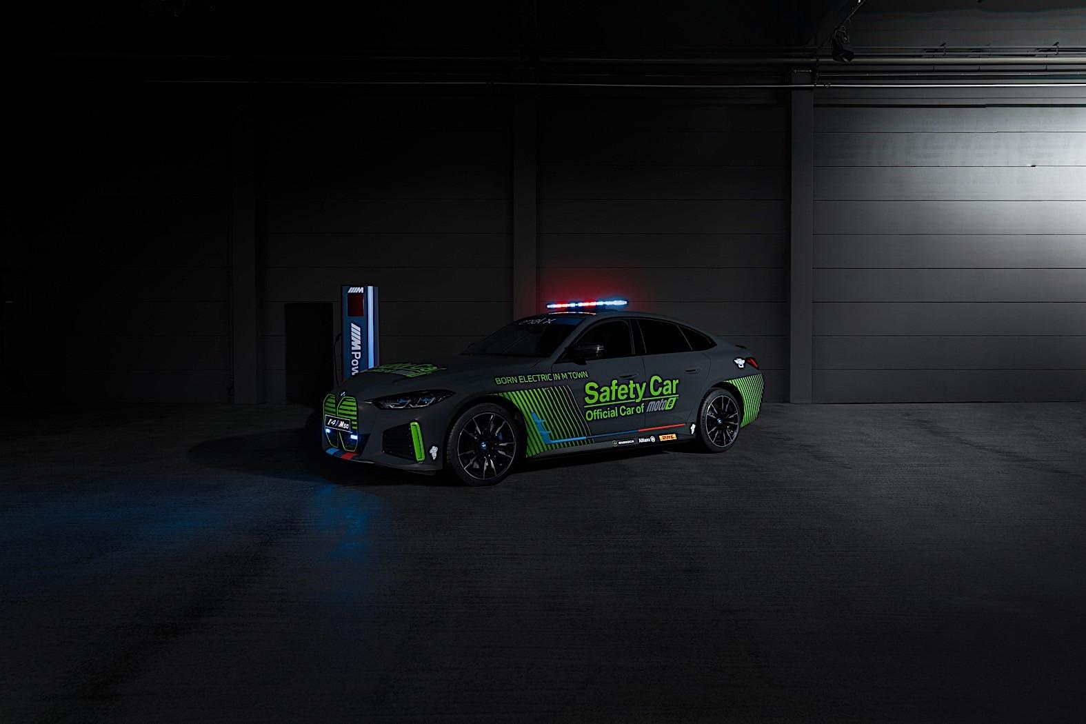 MOTOE'NİN GÜVENLİK ARACI BMW i4 M50 OLDU