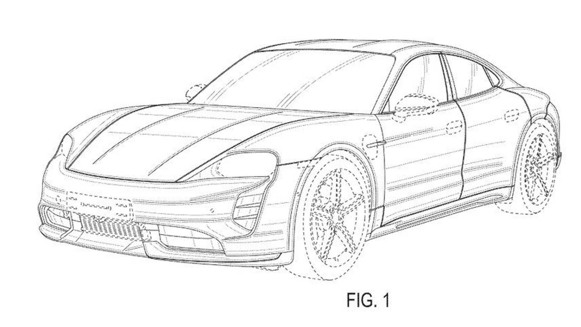 Porsche Sedan karoserli bir Taycan Cross Turismo mu hazırlıyor?