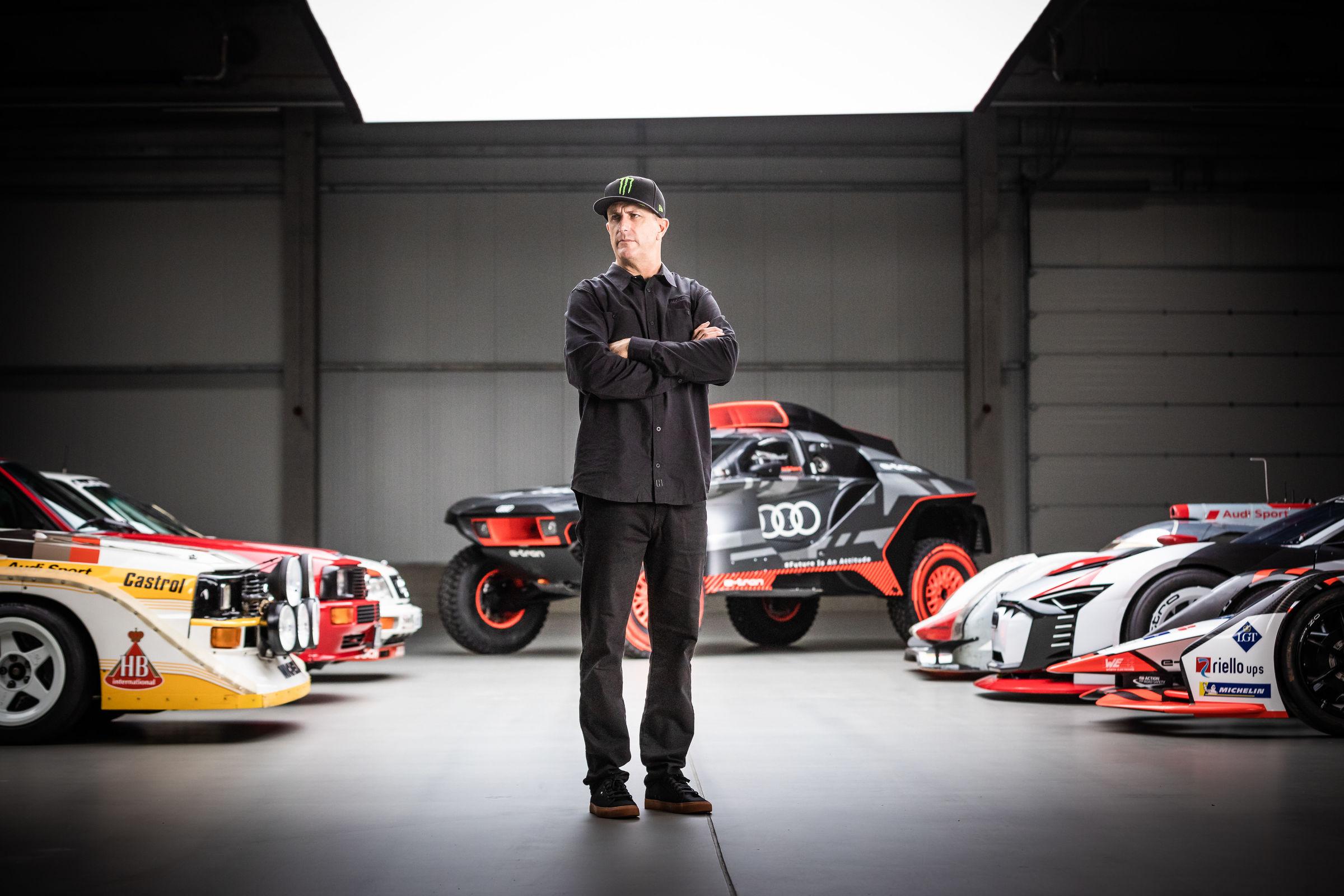 Ken Block EV projeleri için Audi ile ortaklık kurdu